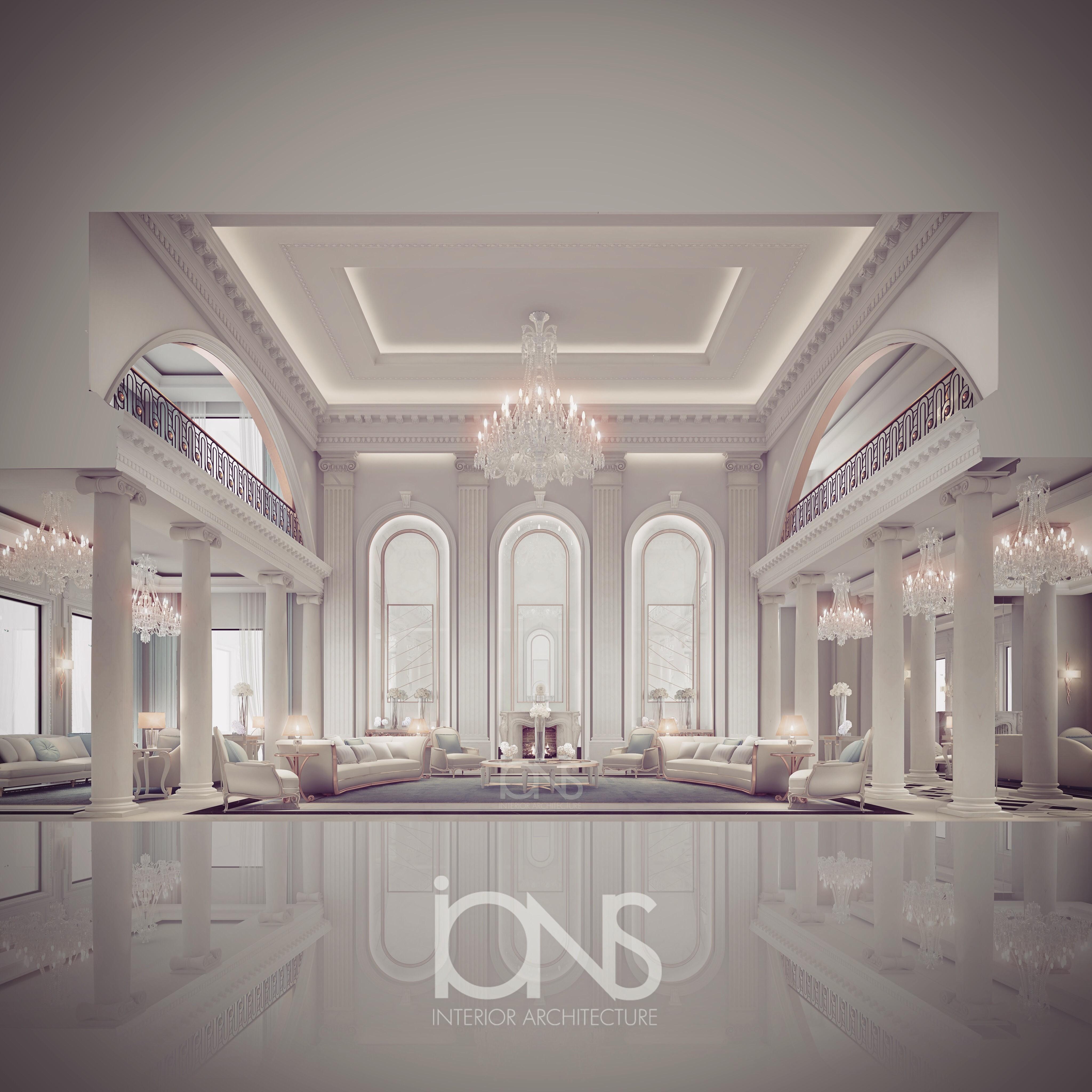 Mansion home interior design