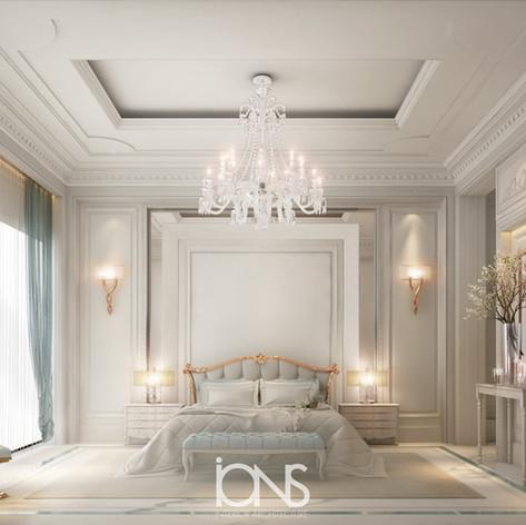 Neoclassical Bedroom Design