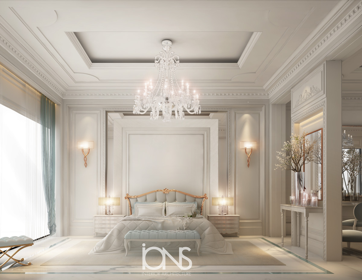bedroom Designing for a villa in Dubai