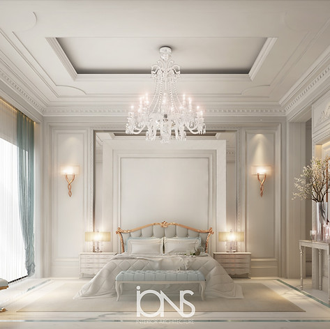 Neoclassical Bedroom Design