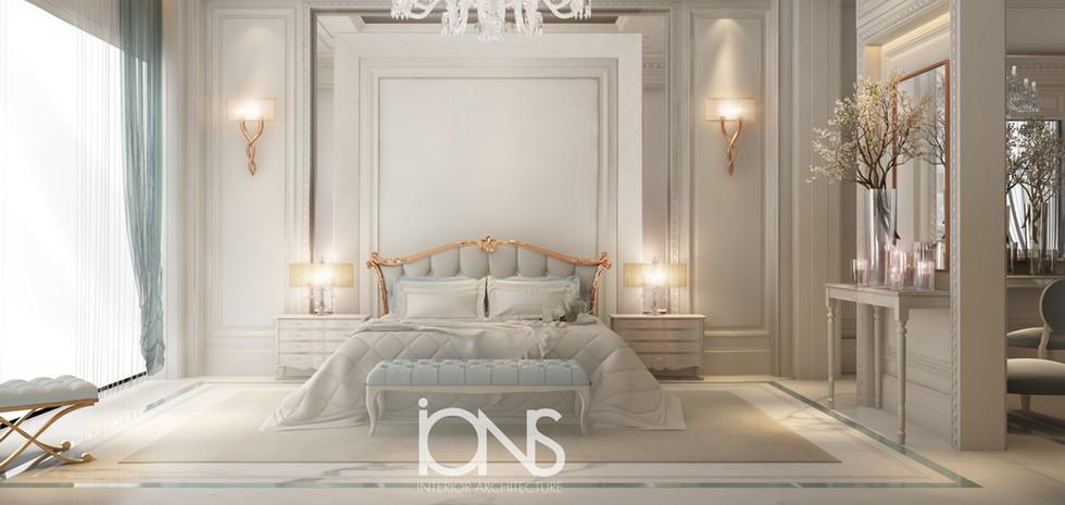 bedroom Designing for a villa in Dubai