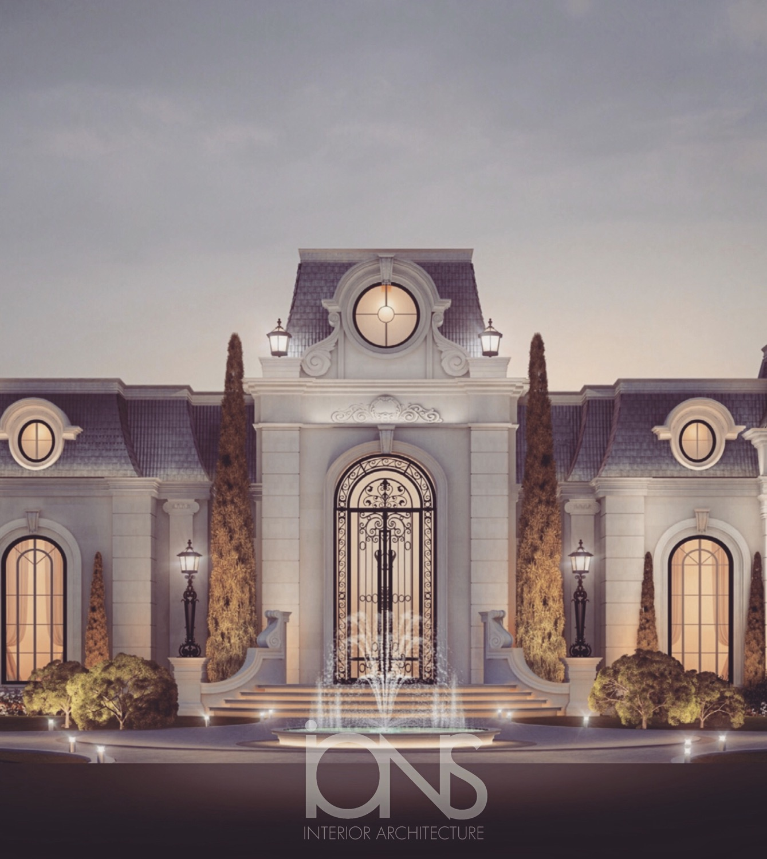 Palatial Home Architecture - Qatar
