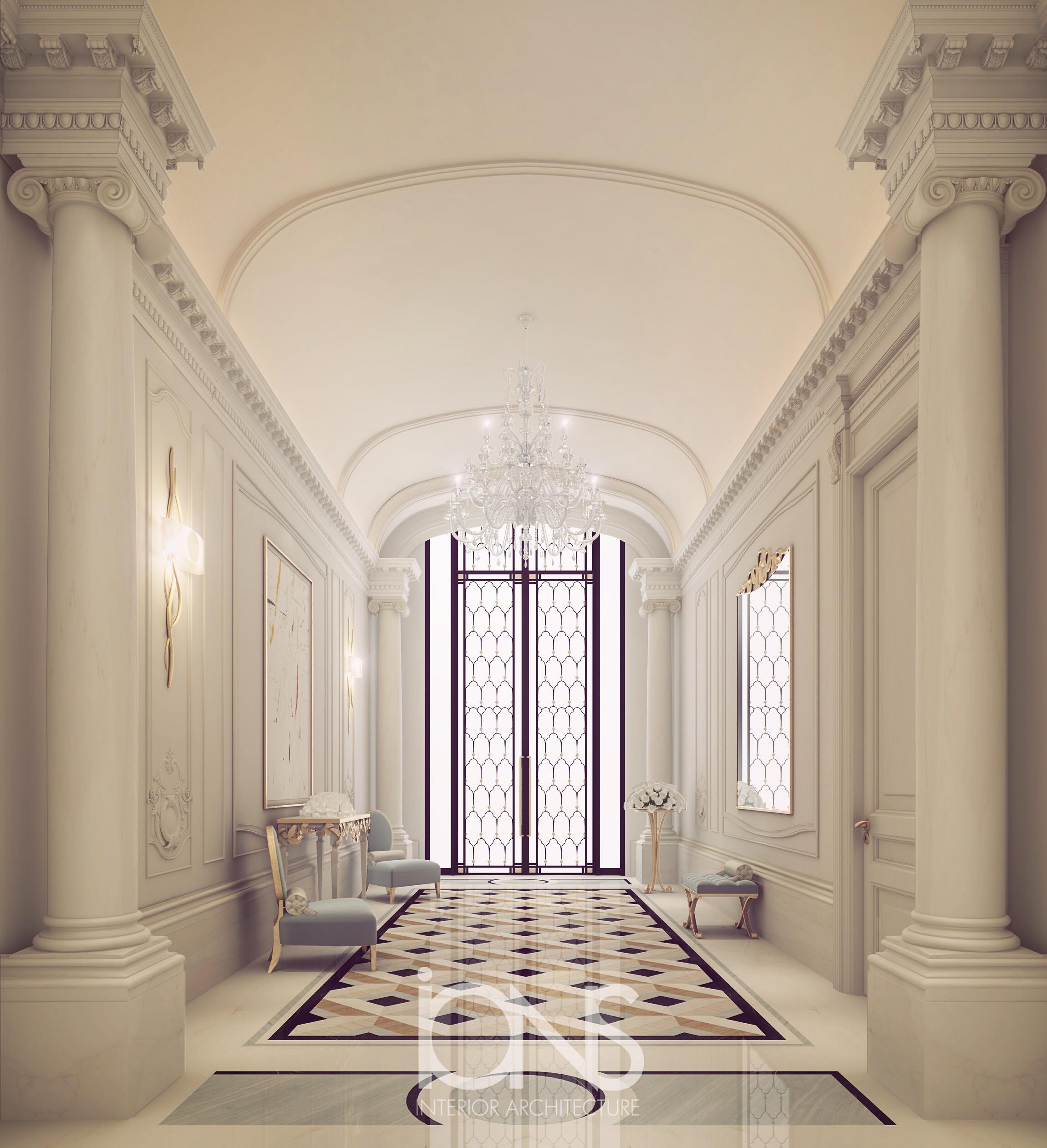 Stylish Foyer  Interior Decoration