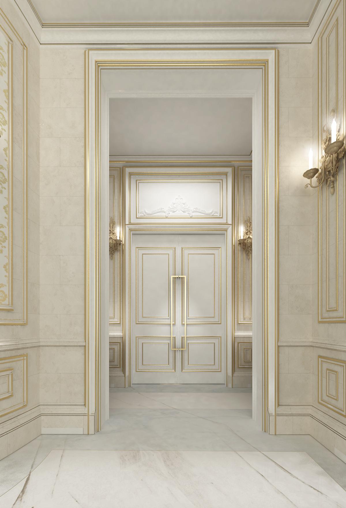 Neo Classic Villa Design - Qatar