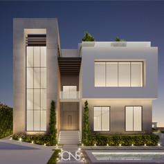 Modern Dubai villa design