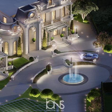 Doha Palace architecture design