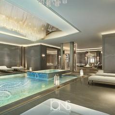 swimming pool seating design