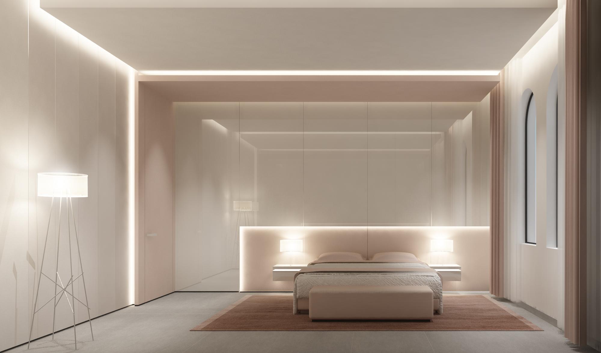 Pink Bedroom Interior  Design Ideas