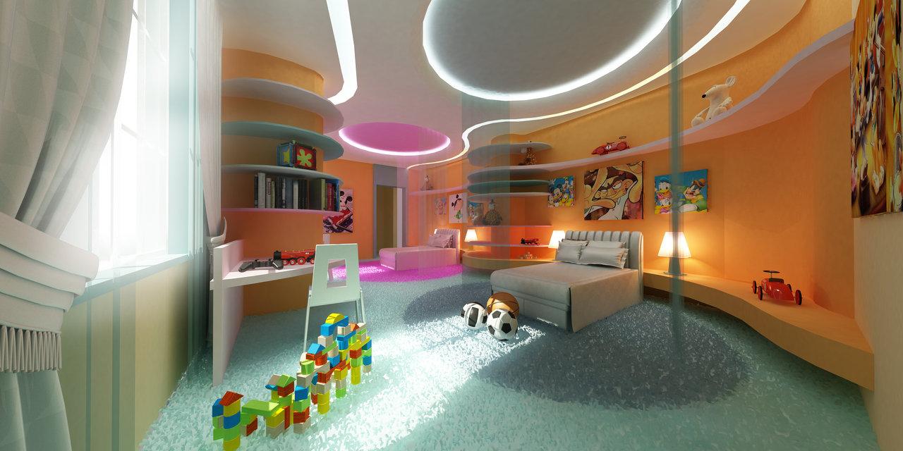 Modern House Kids Bedroom