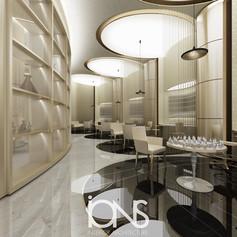 Cairo Perfume retail interior design