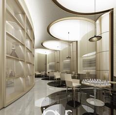 perfume shop interior Design,Cairo.Egypt