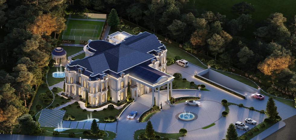 Palace Architecture Design Dubai UAE