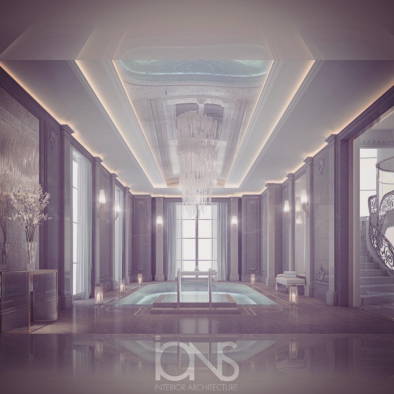 Interior Decoration for Pool Area