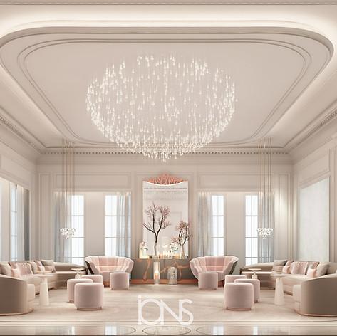 Qatar Villa interior Qatar Villa Majlis interior Majlis Design
