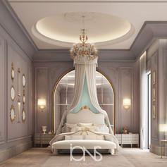 Classic Bedroom Design in Qatar