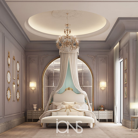 Classic Bedroom Design in Qatar
