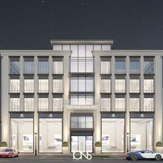 Office Building Architecture Design new Cairo