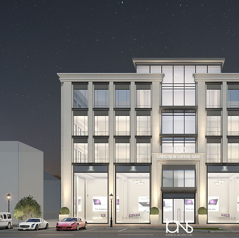 Office Building Architecture Design new Cairo