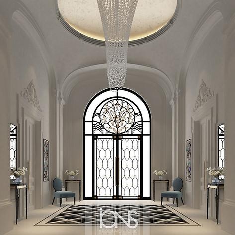 Dubai Villa interior design