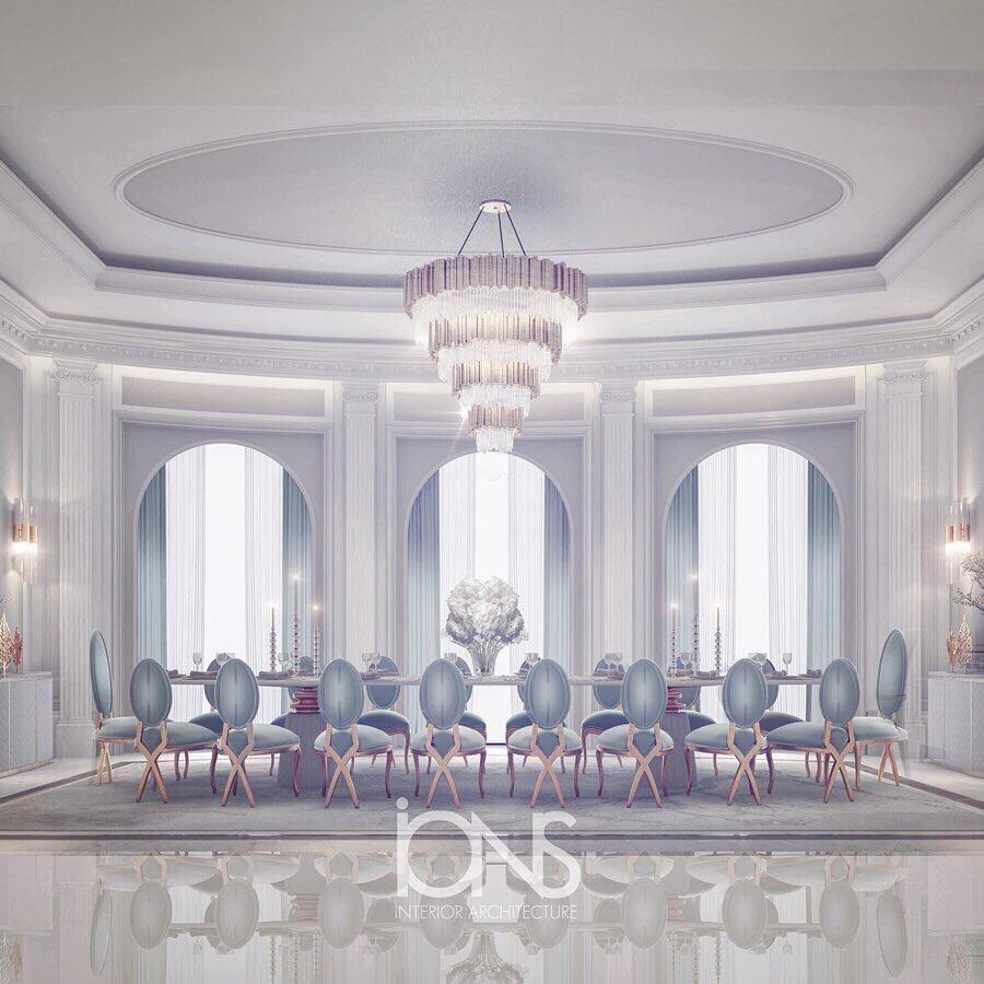 Dining Room Interior Design - Qatar