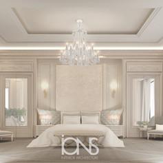 Dubai villa modern bedroom design
