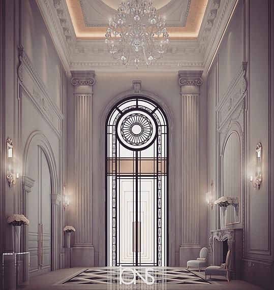 Lobby Design Private Villa