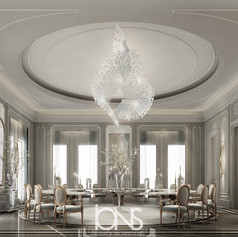 Doha Palace Dining Room interior design