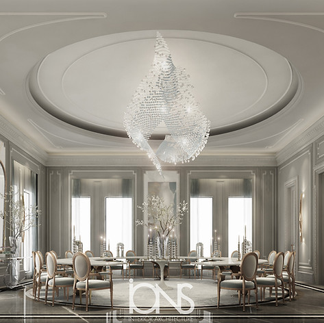 Doha Palace Dining Room interior design