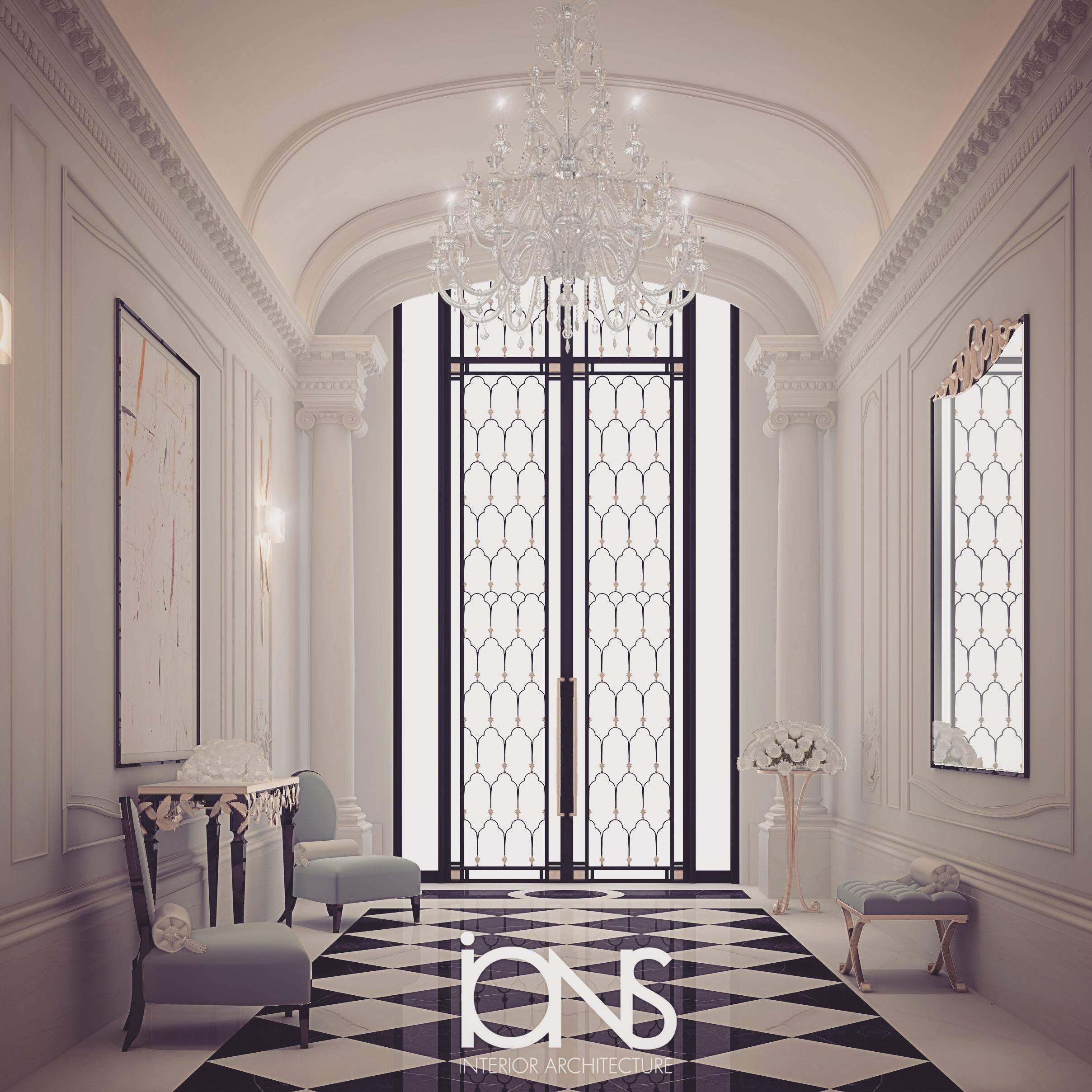 Black and White Interior Decoration