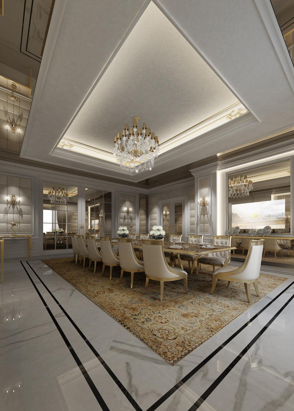 Dining Room Interior Design Dubai