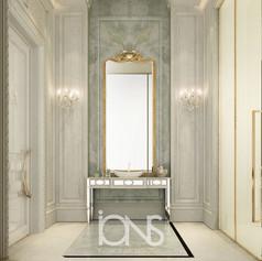 Bathroom Design for Doha palace