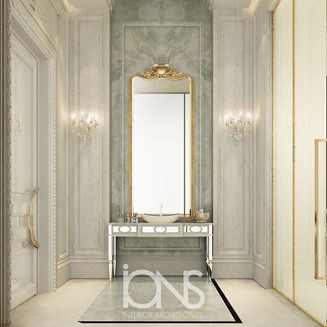 Bathroom Design for Doha palace