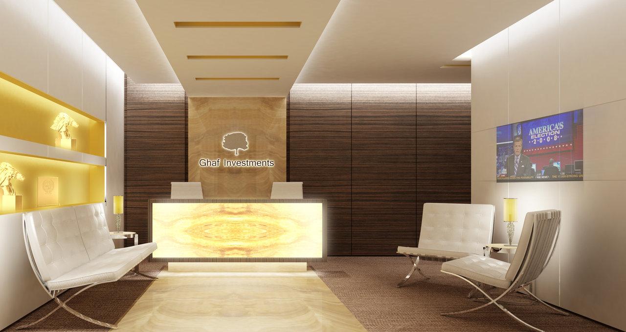 Ghaf Reception Area Interior Design