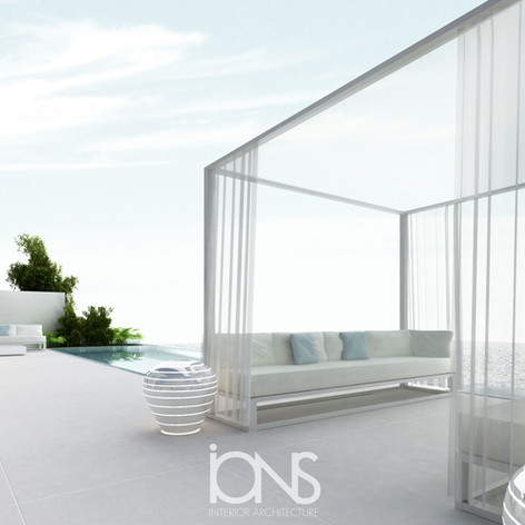 Modern Swimming pool design, Dubai Villa