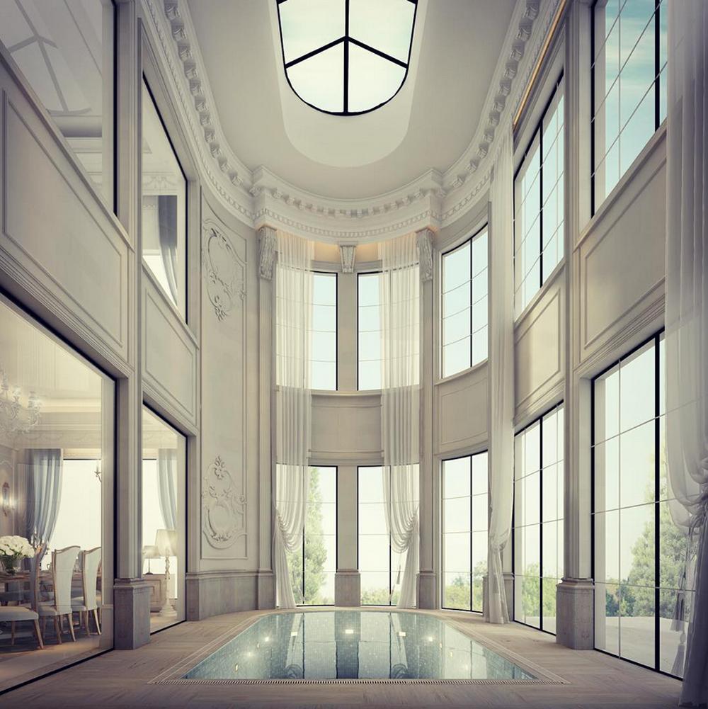 Interior Designing with Indoor Pool