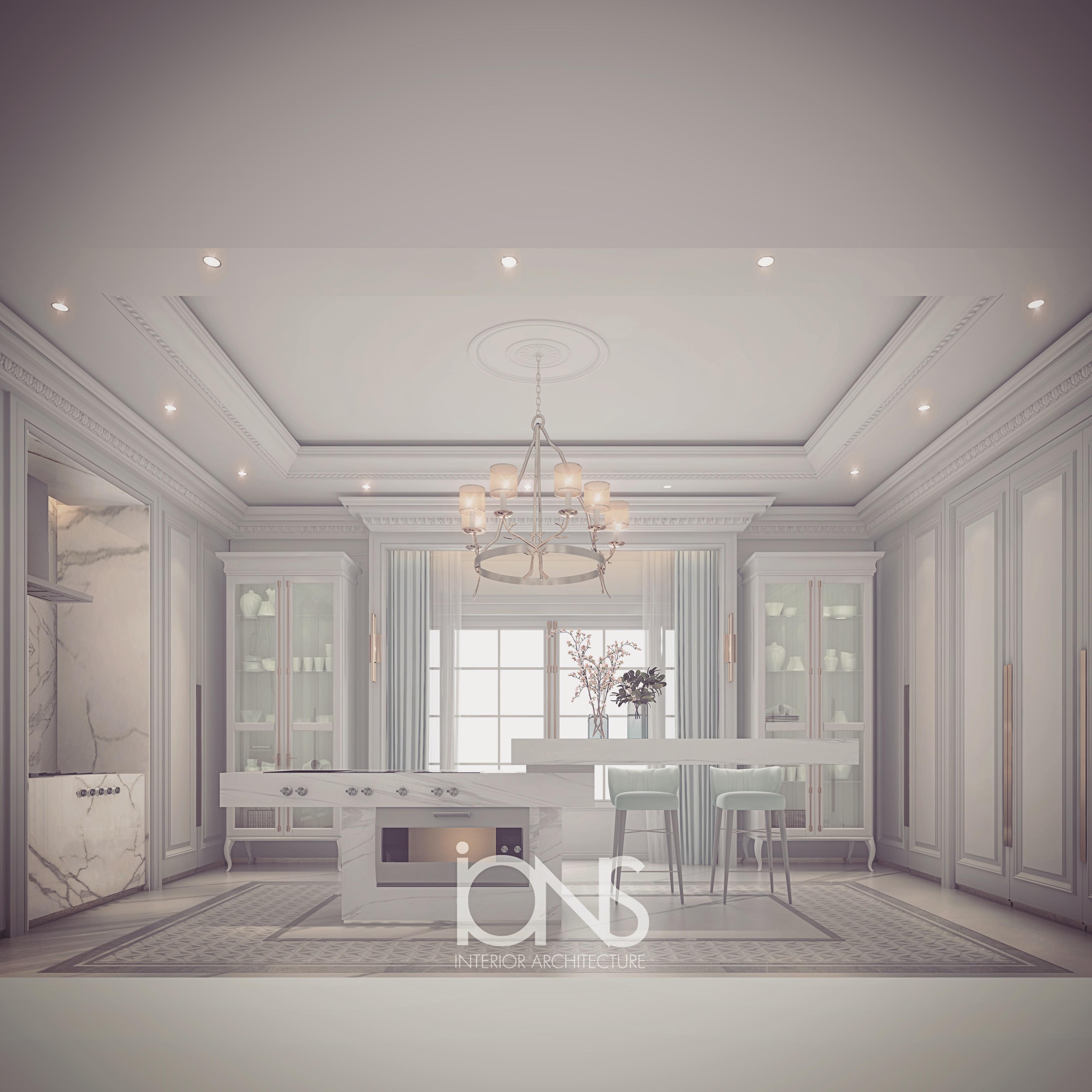 Kitchen Interior -  Villa Design