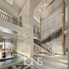 Parisian Style Entrance Design