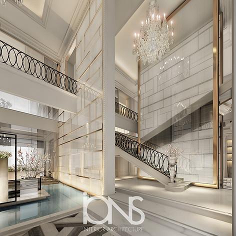 Villa interior design.Dubai,UAE