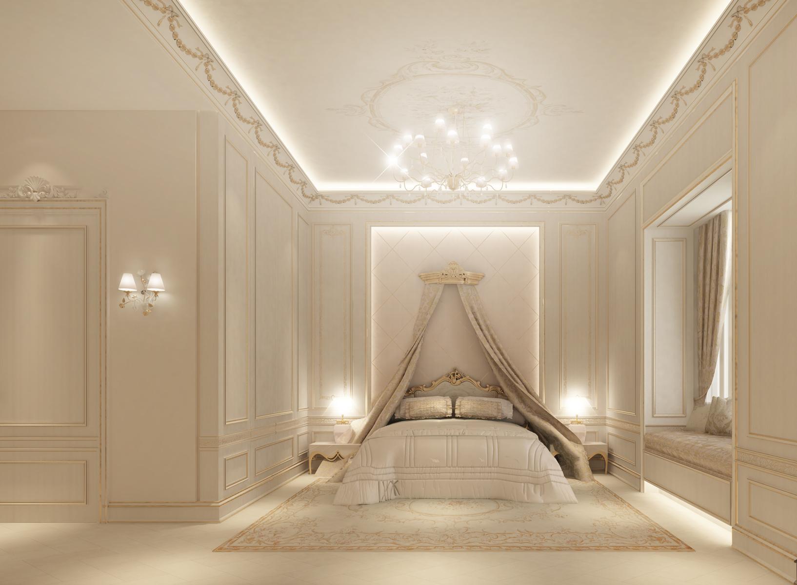 Luxe Bedroom Interioign  - Dubai-UAE