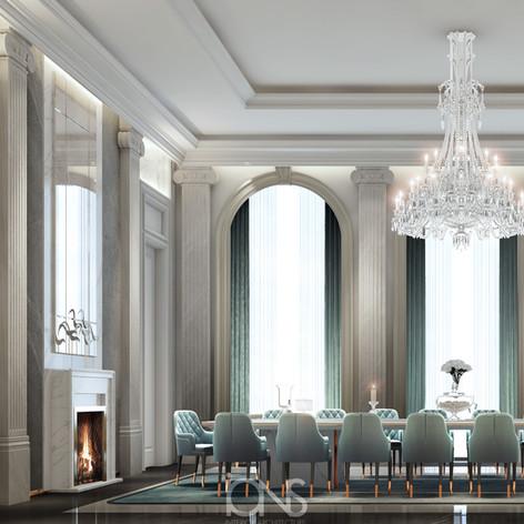 Dining room Luxury interior design