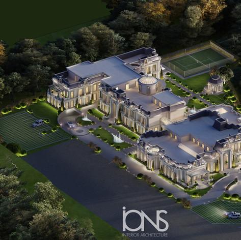 Grand Palace Architecture Plan