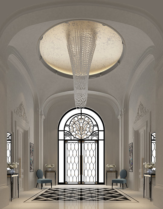 Entrance Lobby Interior Design Dubai