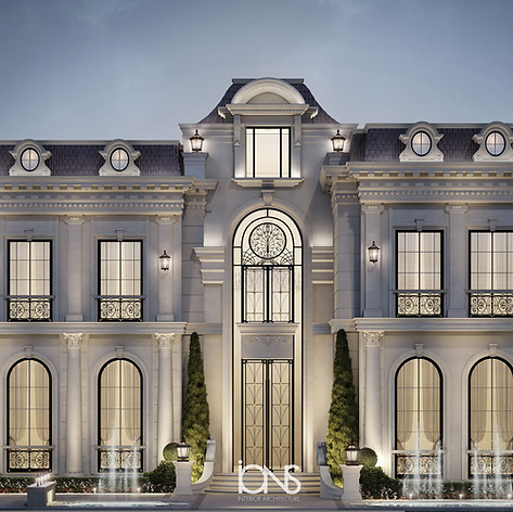Architecture Design Abu Dhabi villa