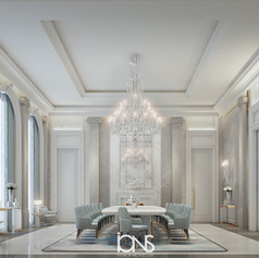Dining Room interior design by IONS