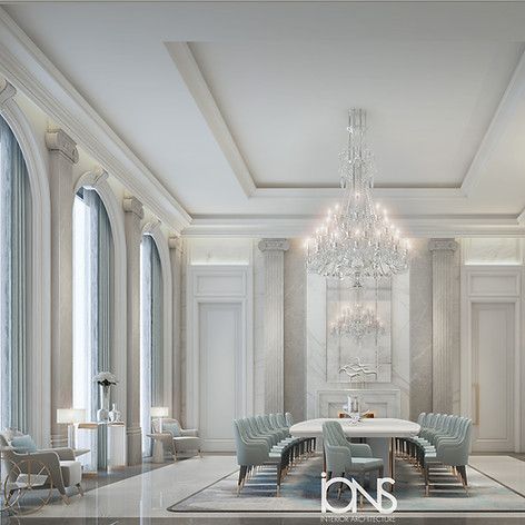Majlis and sitting rooms interior design by IONS