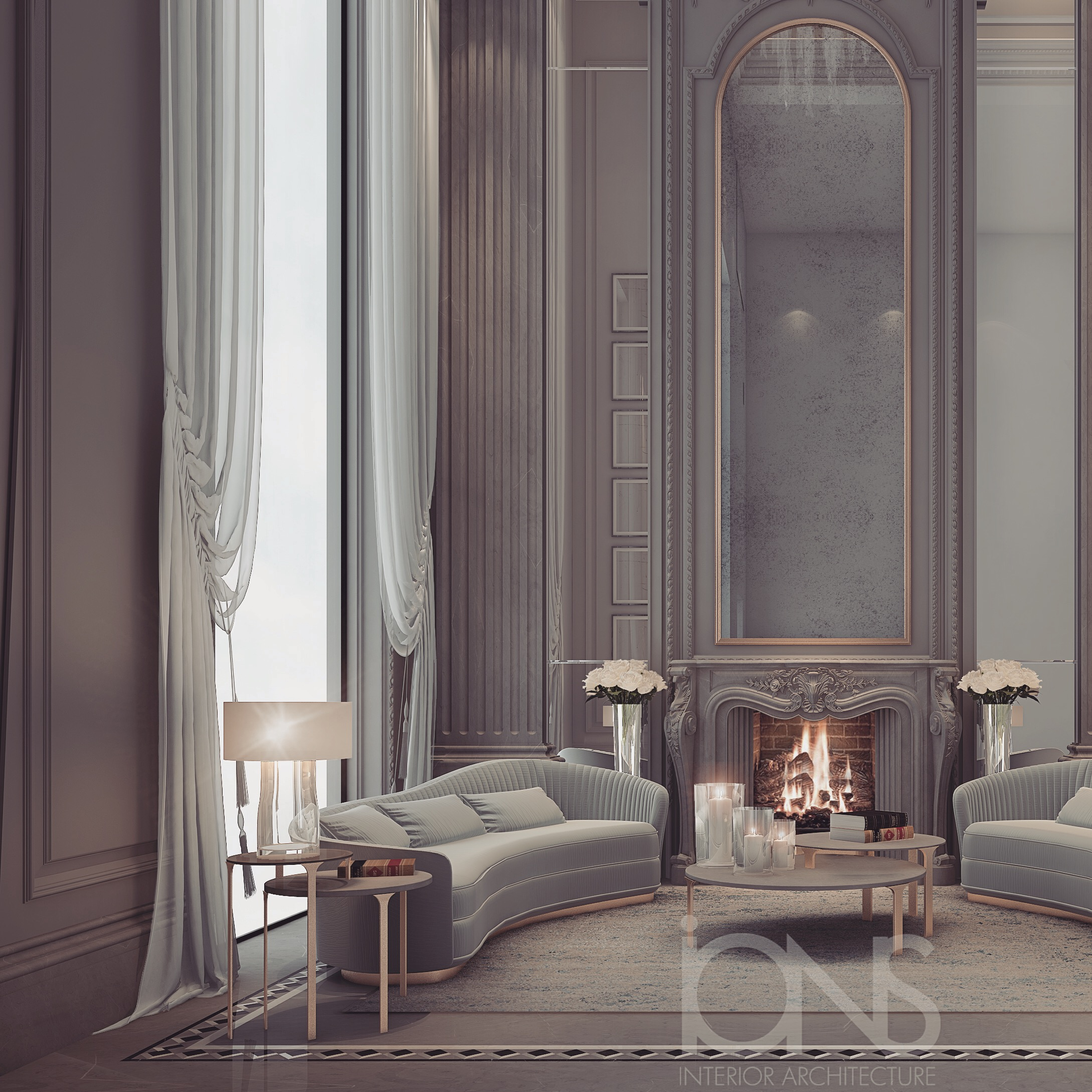 Palatial Villa Design in Qatar