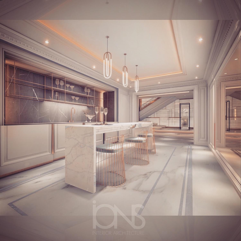 Interior Designing of Deluxe Bar