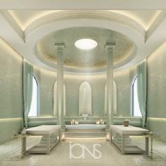 Spa interior Design,Doha palace