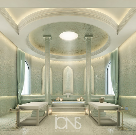 Spa interior Design,Doha palace