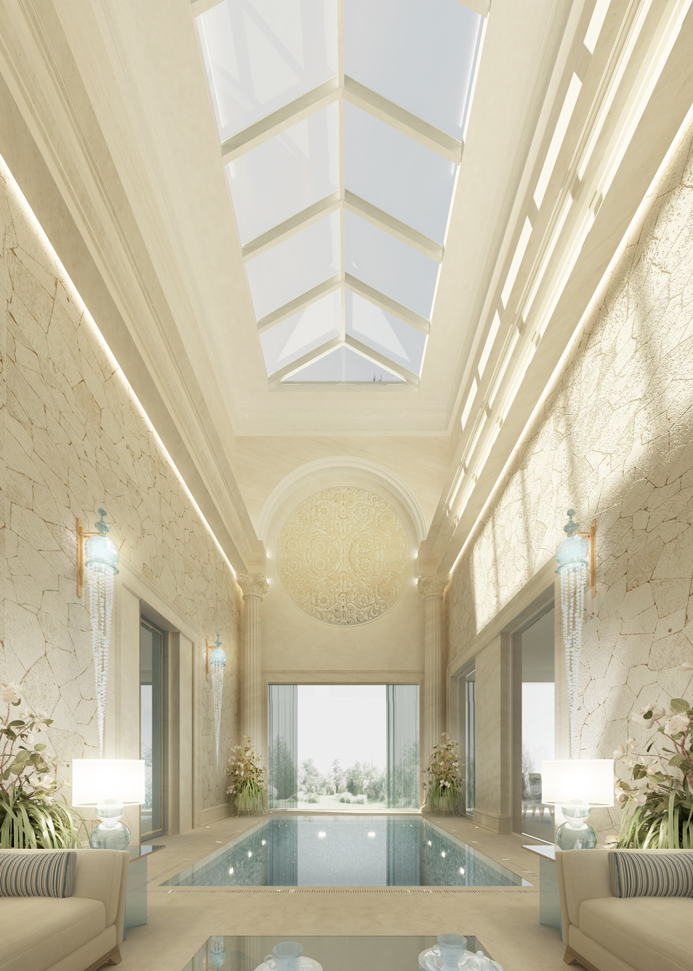 Luxury  Pool for your Villa Design